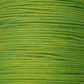 waxkoord 0,5 mm 10 meter donker lime