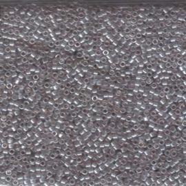 DB1485 Miyuki Delica 11/0 - 5 gram - kleur TR Light Taupe Luster