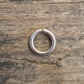 DQ open ringetje 6 mm 1.2mm dik - 40 stuks (B05-005-AS)
