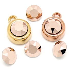 swarovski puntsteen SS39 8,5mm rose gold