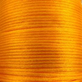 satijnkoord 2mm 5 meter kleur lichtoranje