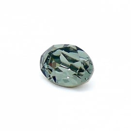 swarovski ovaal 4120 (maat 10x14mm) kleur black diamond (BSOV-006)