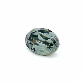 swarovski ovaal 4120 (maat 10x14mm) kleur black diamond (BSOV-006)