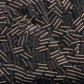 Bugle Bead 3 Miyuki Iris Bronze - 10 gram (BU3-611)