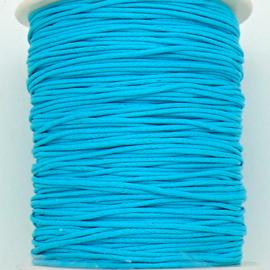 waxkoord 1mm  - 10 meter kleur lichtblauw (no. 189)