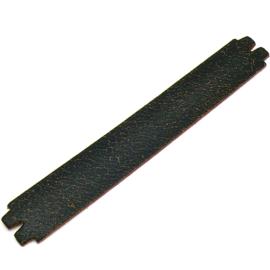 platte leerband 29mm breed kleur Goby Bruin lengte 19cm (OL-34)