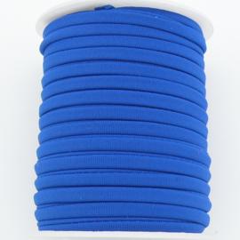 Habotai elastisch zijdekoord - kleur RoyalBlue - 3x5mm - lengte 2 meter (no 18)