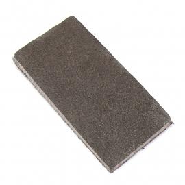 DQ leather gestanste rechthoek 30x60mm - dik 4,5mm kleur buffel grey (ST-RH-005)