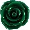 kraal roos 11 mm donkergroen (BK7087)