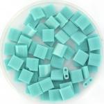 TL5-0412 Miyuki Tila 5x5mm - 5 gram - kleur Opaque Turquoise Green