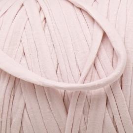 Gipsy koord - licht elastisch textielgaren - ongeveer 20mm breed - lengte 1m - kleur fairy pink (GIPSY B-05)