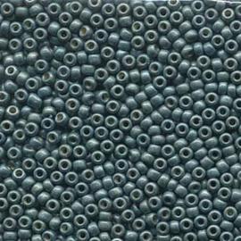 MR8-4217F Miyuki Rocailles 8/0 - 10 gram - kleur Duracoat Galvanized Matte Sea Foam