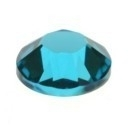 swarovski platte steen SS34 8 mm blue zircon