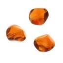 glaskraal nugget bruin 15mm (AB83404)