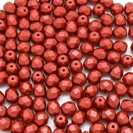 FPB 6mm kleur Lava Red - 01890  25 stuks