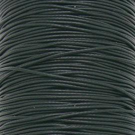 waxkoord 0,5 mm 10 meter kleur zwart