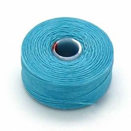 C-Lon rijggaren D - dikte 0,16mm - klos circa 70m - kleur turquoise (AB20422)