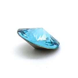 swarovski puntsteen 1122 - rivoli 12mm light turquoise
