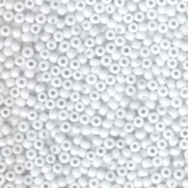 MR8-0402 miyuki rocailles 8/0 - 10 gram kleur opaque white