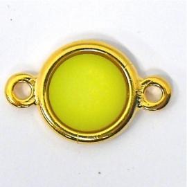 DQ metaal GOLD tussenzetsel polaris mat groen (15x25m)