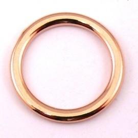 DQ metaal ROSE GOUD Ring 17mm - binnenmaat 13mm (B05-027-RG)