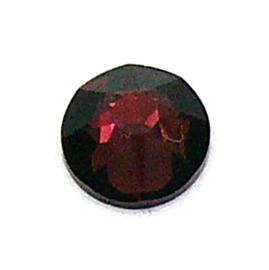 swarovksi platte steen  SS34 - burgundy