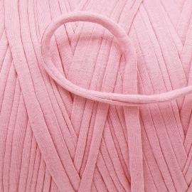 Gipsy koord - licht elastisch textielgaren - ongeveer 20mm breed - lengte 1m - kleur pinky pink (GIPSY B-07)