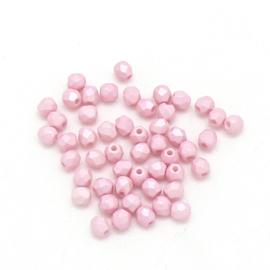 FPB 3mm kleur Powdery Pastel Pink - 03000/29305AL - 50 stuks