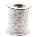 stoffen elastiek 1mm dik lengte 2 meter - kleur offwhite (AB84850)