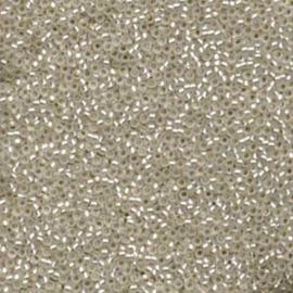 MR15-0001F Miyuki Rocailles 15/0 - 5 gram - kleur Crystal Matte