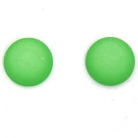 polariscabochon 12 mm - kleur fluor groen (M71432)