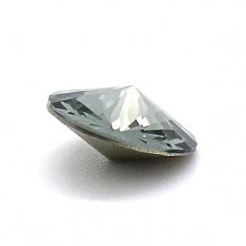 swarovski puntsteen 1122 - rivoli 12mm black diamond