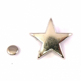 stud sherif star 24x24mm (B09-008-AS) - 3 stuks
