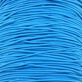 stoffen elastiek 1mm dik lengte 2 meter - kleur blauw