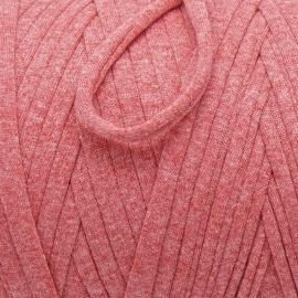 Gipsy koord - licht elastisch textielgaren - ongeveer 20mm breed - lengte 1m - kleur coral blush (GIPSY B-12)