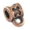 DQ metaal KOPER buiskraal met oog 7x10mm (BK6167)