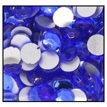 Swarovski platte steen SS16 - kleur Saphire