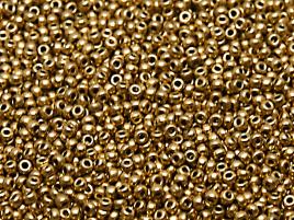 MR11-55127 Miyuki Rocailles 11/0 - 10 gram - kleur Aztec Gold