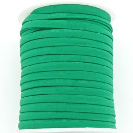 Habotai elastisch zijdekoord - kleur SpringGreen - 3x5mm - lengte 2 meter (no 23)