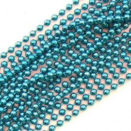 ballchain 2mm - lengte 1m (code BJ907) kleur Sky blue