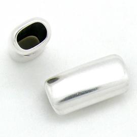 DQ metaal kraal REGALIZ onbewerkt maat 29x14mm - gat 7x10mm (B04-191-AS)