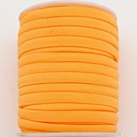Habotai elastisch zijdekoord - kleur LightSalmon - 3x5mm - lengte 2 meter (no 09)