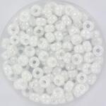 MR6-0402R Miyuki Rocailles 6/0 - 10 gram - kleur Opaque AB White