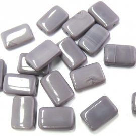 glaskraal paars rechthoek 10x15mm (BJP013) 10 stuks