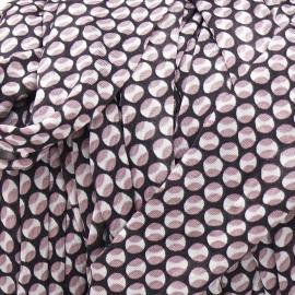 Gipsy koord - licht elastisch textielgaren - ongeveer 20mm breed - lengte 1m - kleur parish chique (GIPSY B-17)