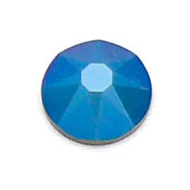 swarovksi platte steen  SS34 - metalic blue
