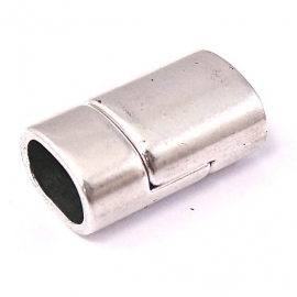 DQ metaal magneetsluiting 13x22mm gat 7x10mm REGALIZ (B07-001-AS)