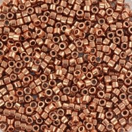 DB0040 Miyuki Delica 11/0 - 5 gram - kleur plated copper