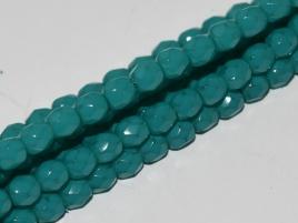 FPB 4mm col. 00030/37355 - 30 kralen - kleur Opal Turquoise