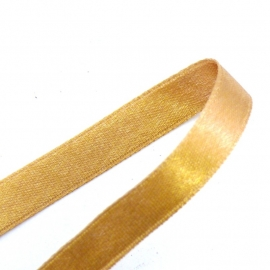 satijnlint 4mm breed 1m lang kleur goud